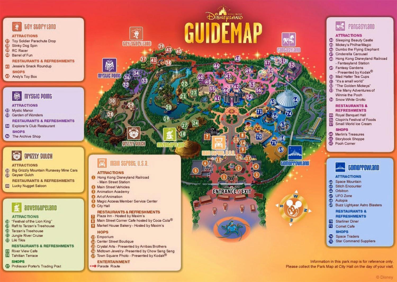 香港ディズニーランドの地図. print印刷 system_update_altダウンロード
